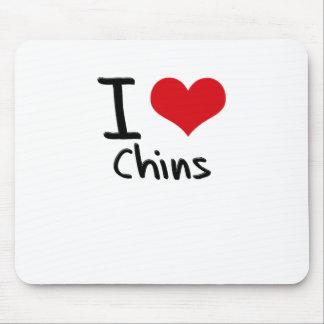 I love Chins Mousepad