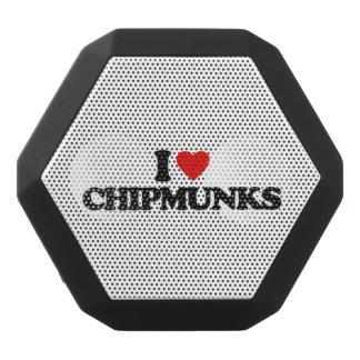 I LOVE CHIPMUNKS BLACK BLUETOOTH SPEAKER