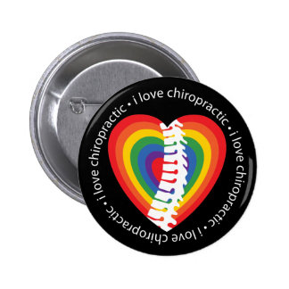 I Love Chiropractic Buttons