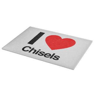 i love chisels cutting boards