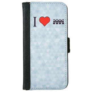 I Love Chit Chatting iPhone 6/6s Wallet Case