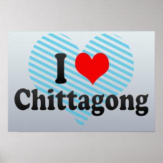 I Love Chittagong, Bangladesh Poster