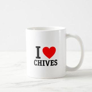 I Love Chives Coffee Mug