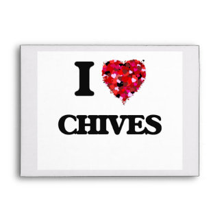 I love Chives Envelope