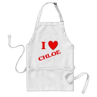 I Love Chloe Adult Apron