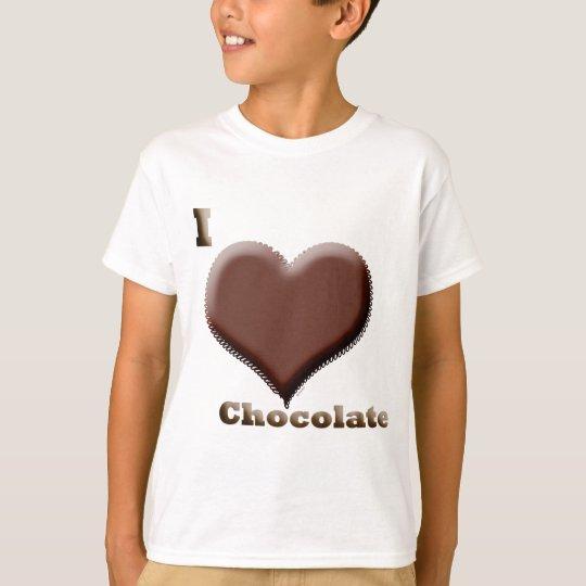 I love chocolate  12-12-08 T-Shirt