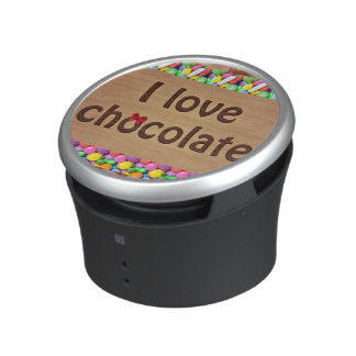 I Love Chocolate Bluetooth Speaker