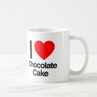 i love chocolate cake coffee mug