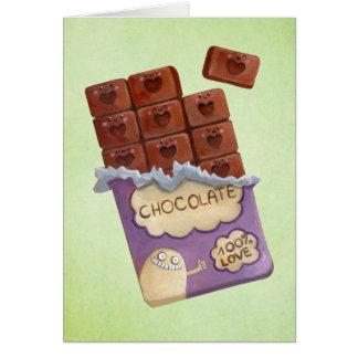 I love Chocolate Cards
