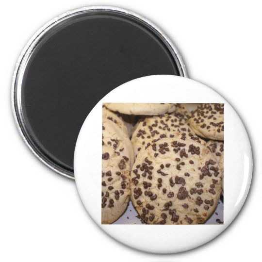 I love Chocolate Chip Cookies 2 Inch Round Magnet