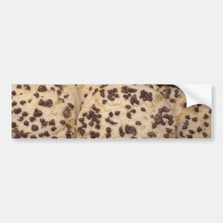 I love Chocolate Chip Cookies Car Bumper Sticker