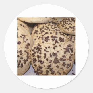 I love Chocolate Chip Cookies Classic Round Sticker