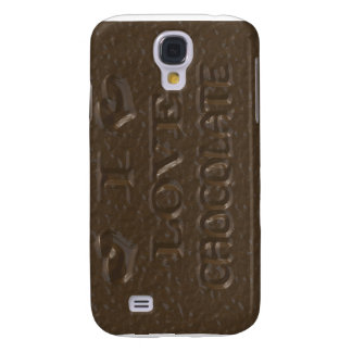 I Love Chocolate Chocolate Samsung Galaxy S4 Cover