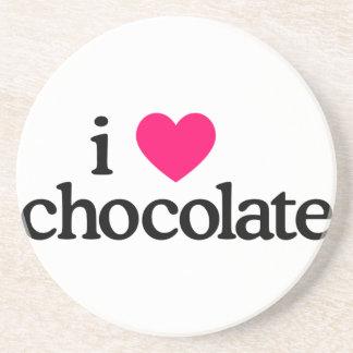 I Love Chocolate Coaster