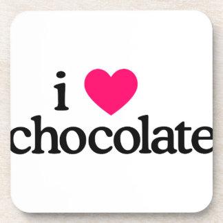 I Love Chocolate Beverage Coaster