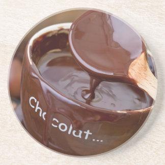 I love chocolate drink coaster