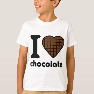 I love chocolate icon T-Shirt