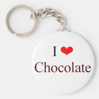 I love Chocolate Keychain