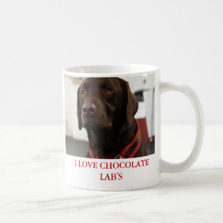 I LOVE CHOCOLATE LAB'S MUG