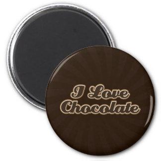 I Love Chocolate Magnet
