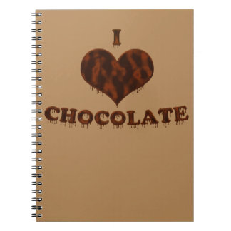I Love Chocolate Notebook