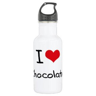 I love Chocolate 18oz Water Bottle