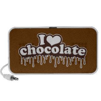 I Love Chocolate Portable Speakers