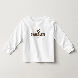 I Love Chocolate Toddler T-shirt