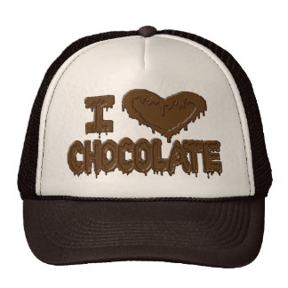 I love chocolate trucker hat