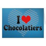 I Love Chocolatiers Card
