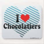 I Love Chocolatiers Mousepad