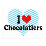 I Love Chocolatiers Postcard