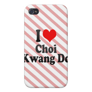 I love Choi Kwang Do iPhone 4 Cases