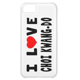 I Love Choi Kwang-Do Martial Arts iPhone 5C Case