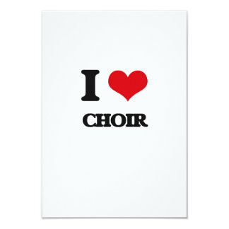 I love Choir Card