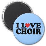 I Love Choir Fridge Magnets