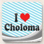 I Love Choloma, Honduras Drink Coasters