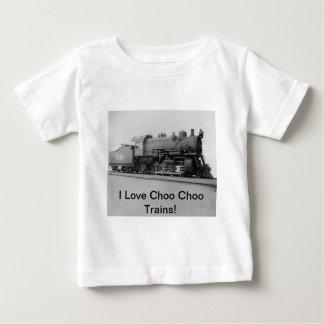 I Love Choo Choo Trains Vintage Steam Engine Tee Shirt
