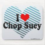 I Love Chop Suey Mouse Pad