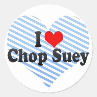 I Love Chop Suey Sticker