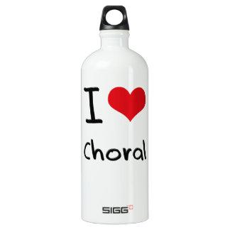 I love Choral SIGG Traveler 1.0L Water Bottle
