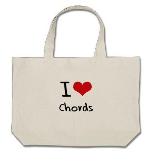 I love Chords Tote Bag