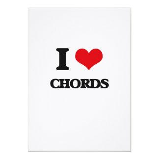 I love Chords Card