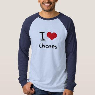 I love Chores Tees