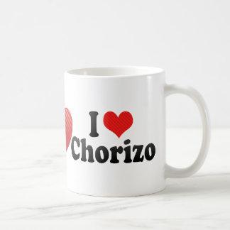 I Love Chorizo Coffee Mug