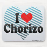 I Love Chorizo Mouse Pad