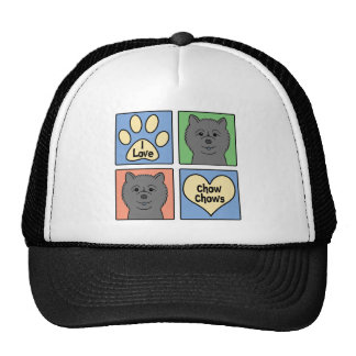 I Love Chow Chows Trucker Hat