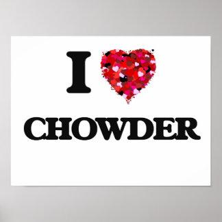 I love Chowder Poster