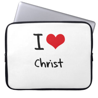 I love Christ Laptop Computer Sleeve