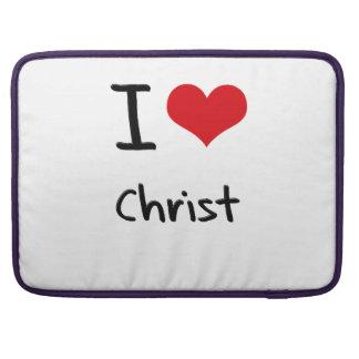 I love Christ Sleeve For MacBooks